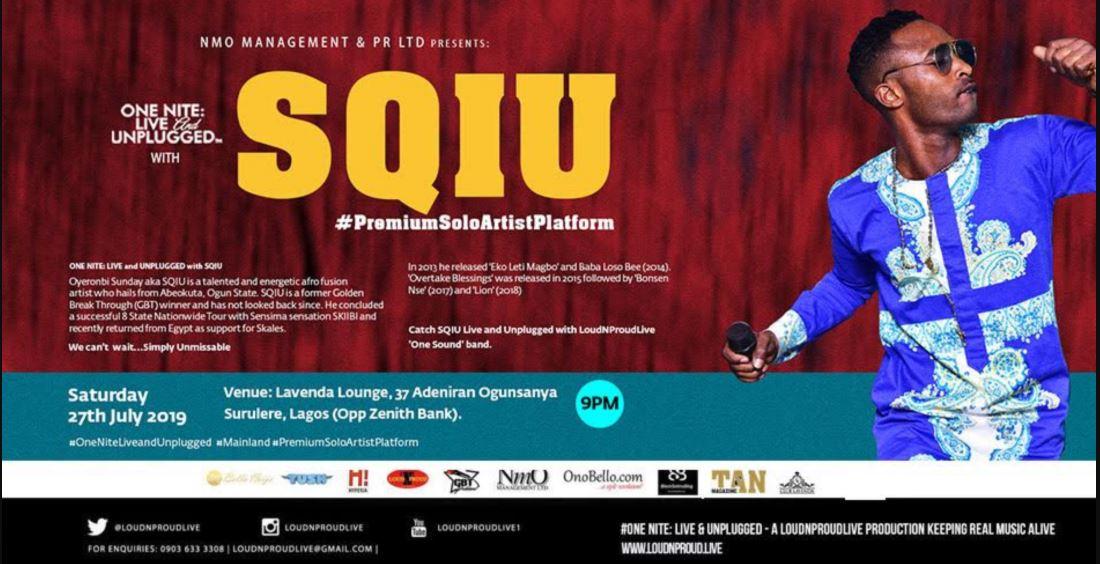 One Nite: Live And Unplugged With SQIU