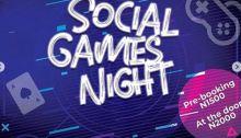 Social Games Night