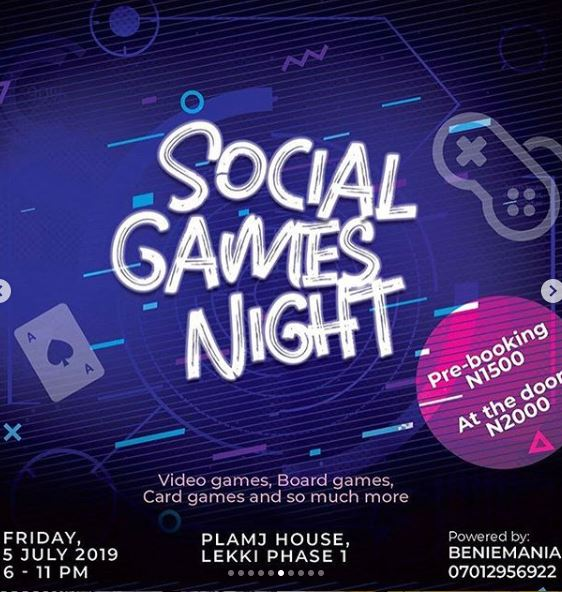 Social Games Night