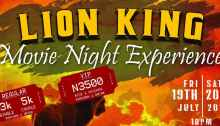 The Lion King Premiere Movie Night Experience