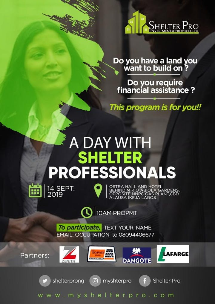 A Day With Shelther Professionals