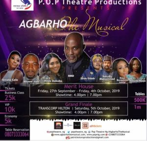 AGBARHO The Musical