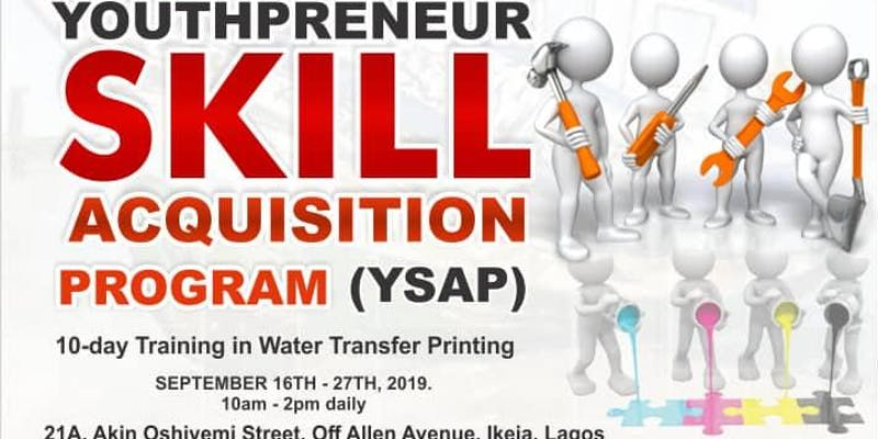 Youthpreneur Skills Acquistion Program