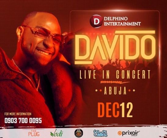 Davido Live in Concert Abuja