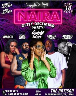 Naira Detty December Party