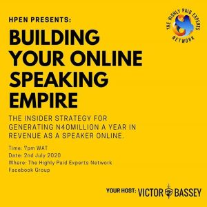 Building Your Online Speaking Empire