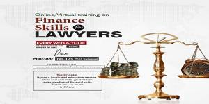 Online Training on Finance Skills for Lawyers