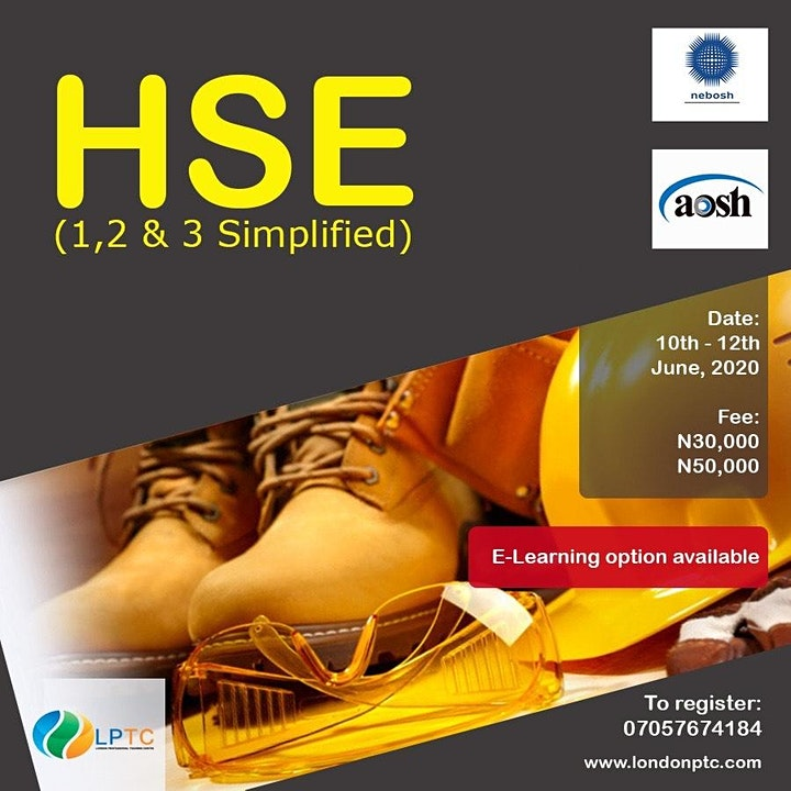 IHO Funded Health & Safety training for Nigerians