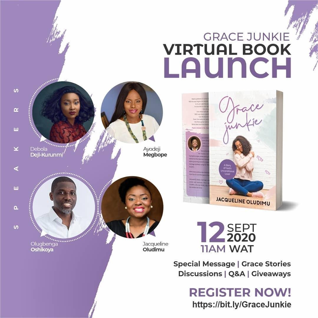 Grace Junkie Virtual Book Launch