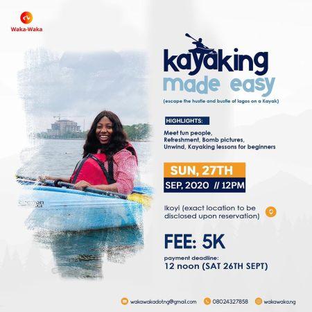 Let's Go Kayaking