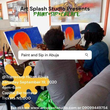 Paint•Sip•Create