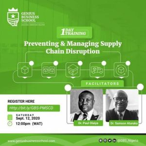 Preventing & Managing Supply Chain Disruption