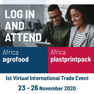 Virtual Agrofood & Plastprintpack Nigeria 2020