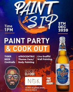 Paint Party & Cookout