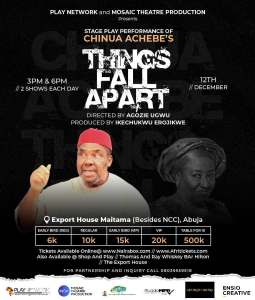 Things Fall Apart Stage Play