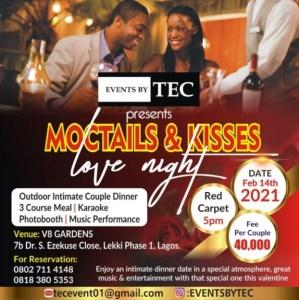 Mocktails & kisses