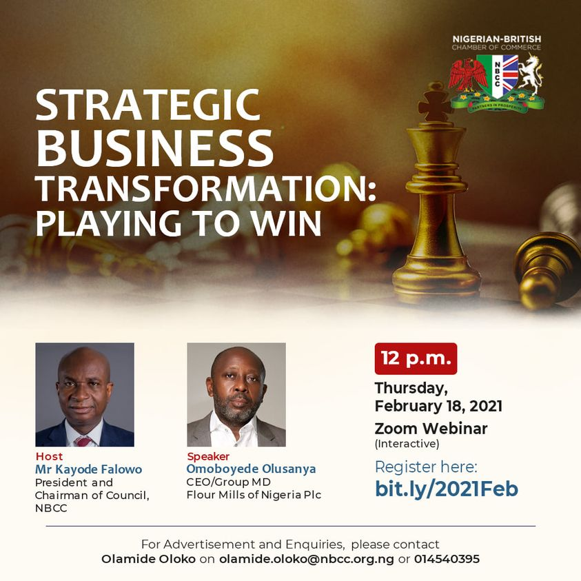 Strategic Business Transformation: Playing To Win