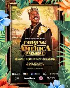 Coming 2 America Premiere