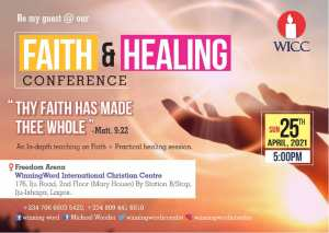 Faith & Healing Conference