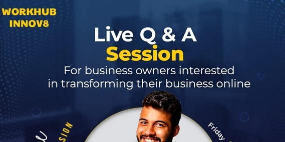 Live Q & A session