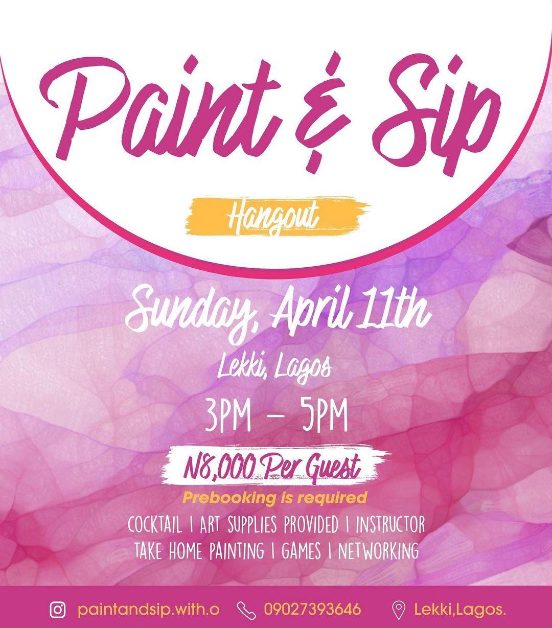 Paint & Sip Hangout