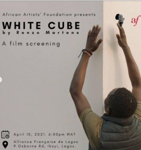 White Cube by Renzo Martens