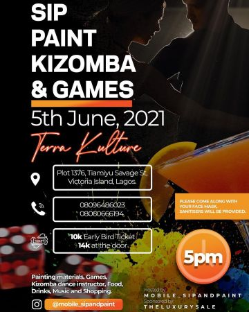 Sip Paint Kizomba & Games