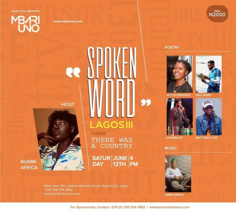 Spoken Word Lagos III