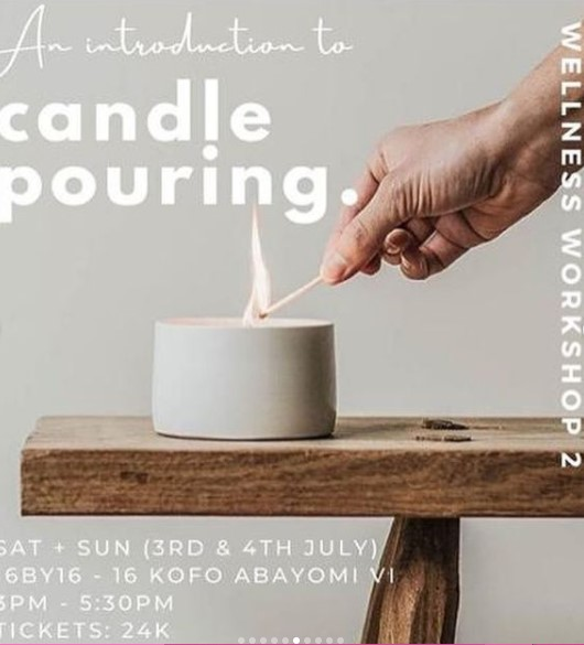 An Introduction to Candle Pouring