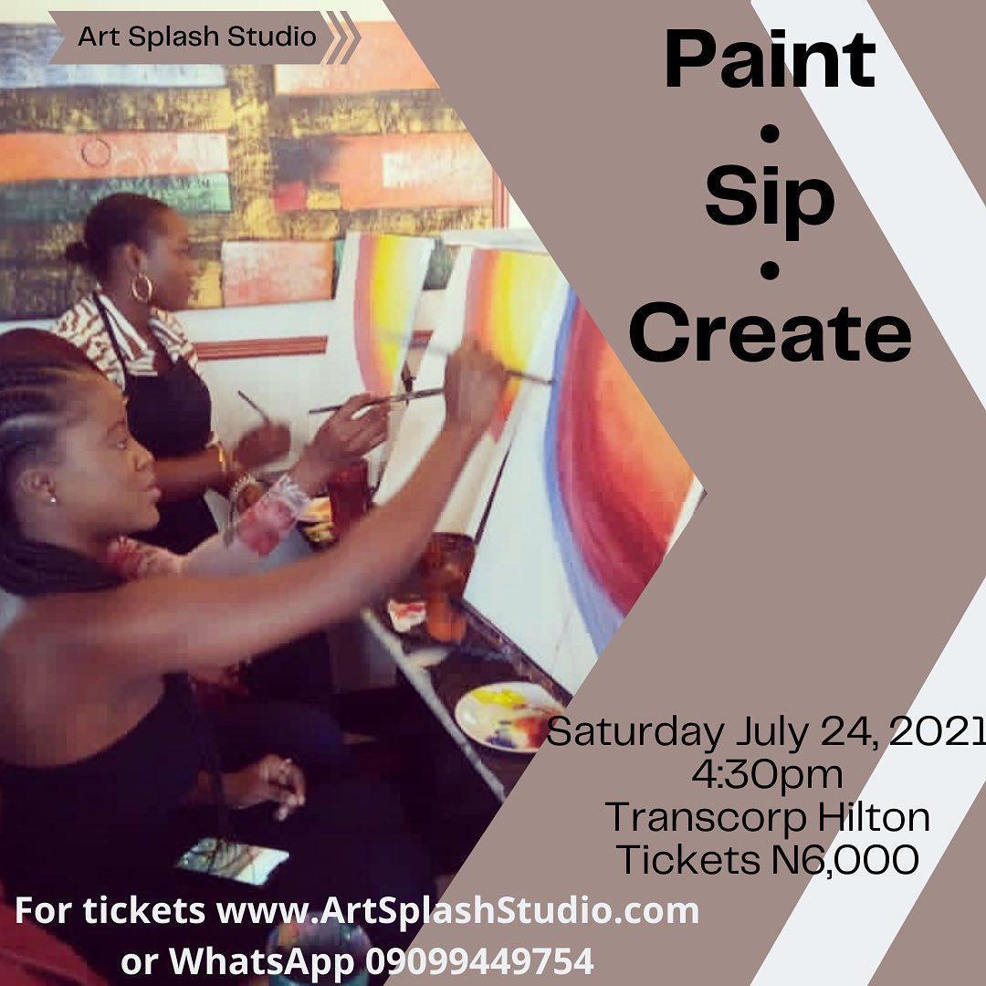 Paint. Sip. Create