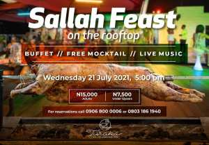 Sallah Feast On The Rooftop