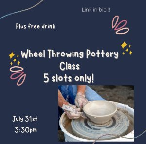 Wheel Throwing Pottering Class