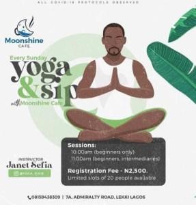 Yoga & Sip