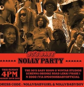 90s Baby Nolly Party