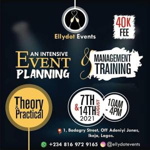 Intensive Event Planning and Management Training