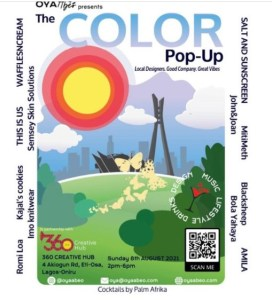The Color Pop Up