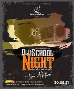 Moonshine Cafe's Old School Night