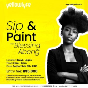 Sip & Paint with Blessing Abeng