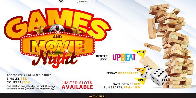 Games & Movie Night