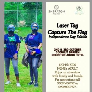 Laser Tag Capture The Flag