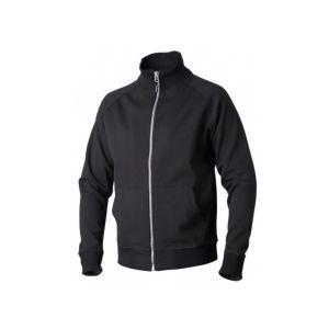 TOP SWEDE - Tröja med hel zip svart