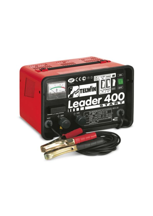 Batteriladdare Leader 400 start 1224V