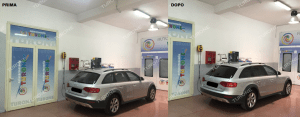 audi a4 all road prima e dopo
