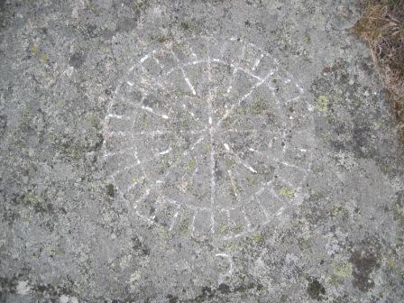32-streks-kompass-rose-ved-vakthytta