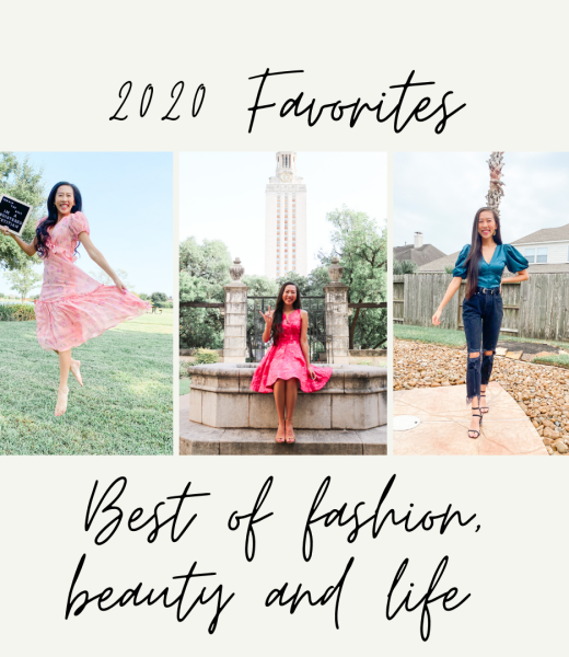 cover photo for 2020 favorites blog post
