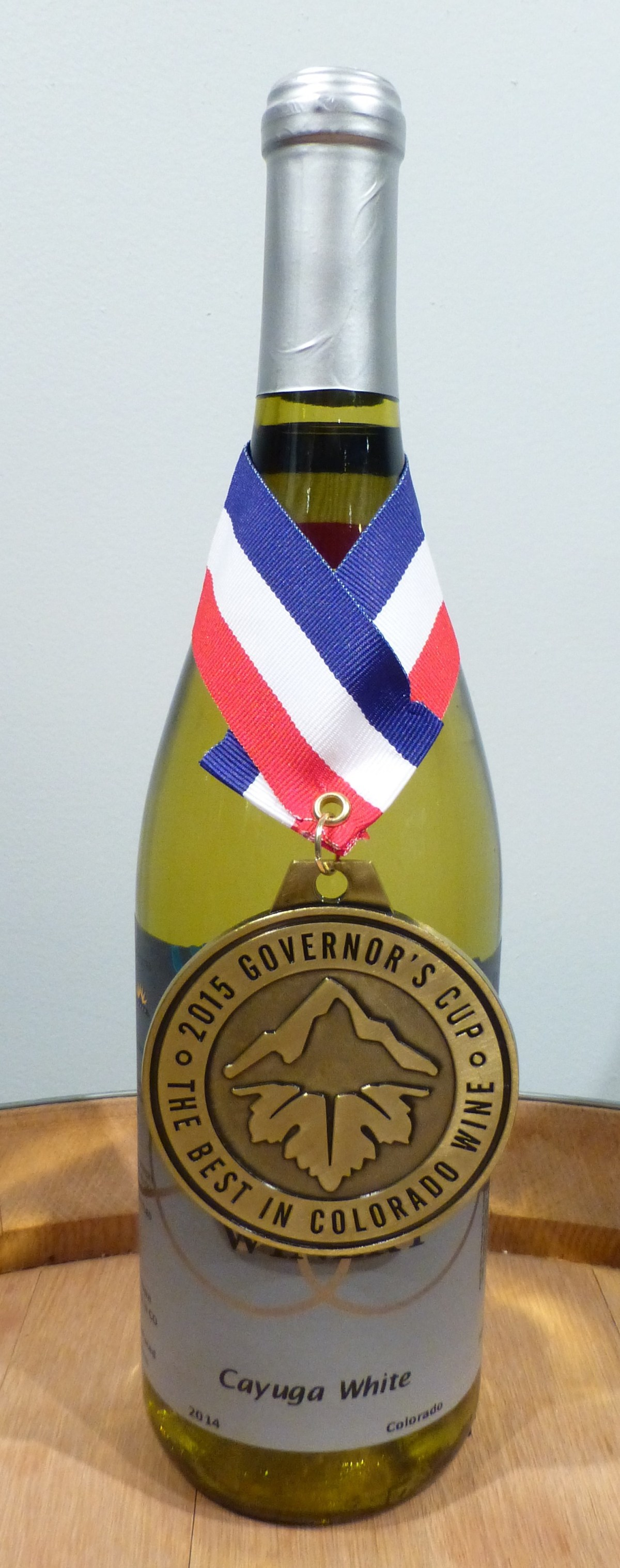 Cayuga White 2015 Governors Cup Best in Colorado Wine winner