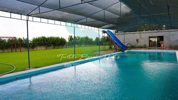 RENT LUXURY AIR CONDITIONED FARM HOUSE AT GHARO FOR FAMILIES