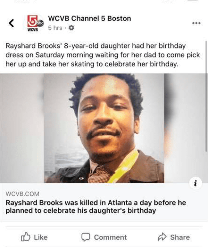 Media Portrays Rayshard Brooks As Loving Father Despite Criminal Charges Of Cruelty To Children, Battery On Family Member, False Imprisonment Screen-Shot-2020-06-14-at-1.41.34-PM