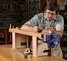 Building Jeff Miller S A Benchtop Bench The