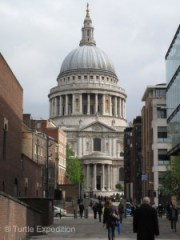 St. Paul's Cathedral has stood on this site for over 1400 years.